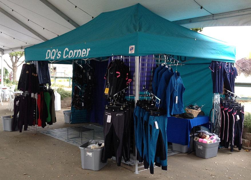 DQ's Corner vendor booth