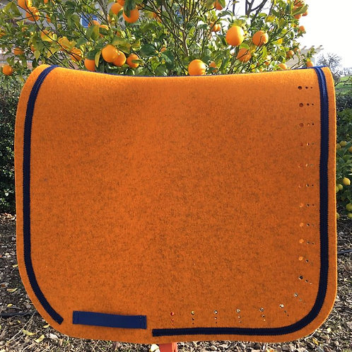 DQ's Design Made-To-Order Custom Wool Felt Saddle Pad