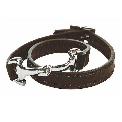 HKM Leather Bracelet Bit