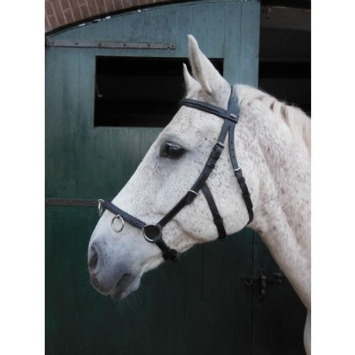 Horka Black Leather Lunging Cavesson