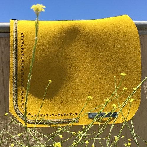"DQ's Design 100% Wool Felt Pad ""Mustard"""