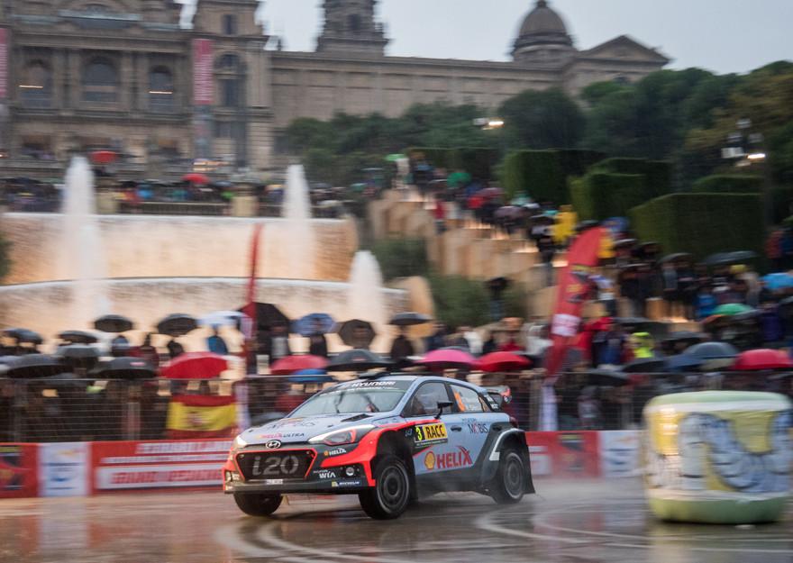 WRC Barcelona