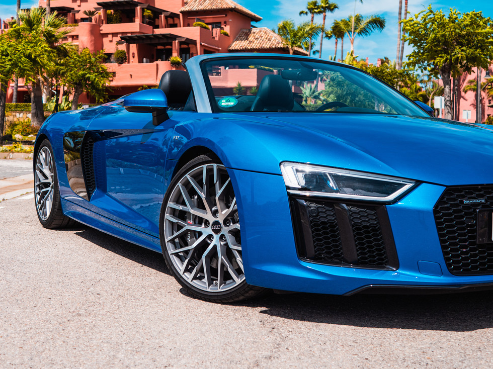 Audi r8 Marbella