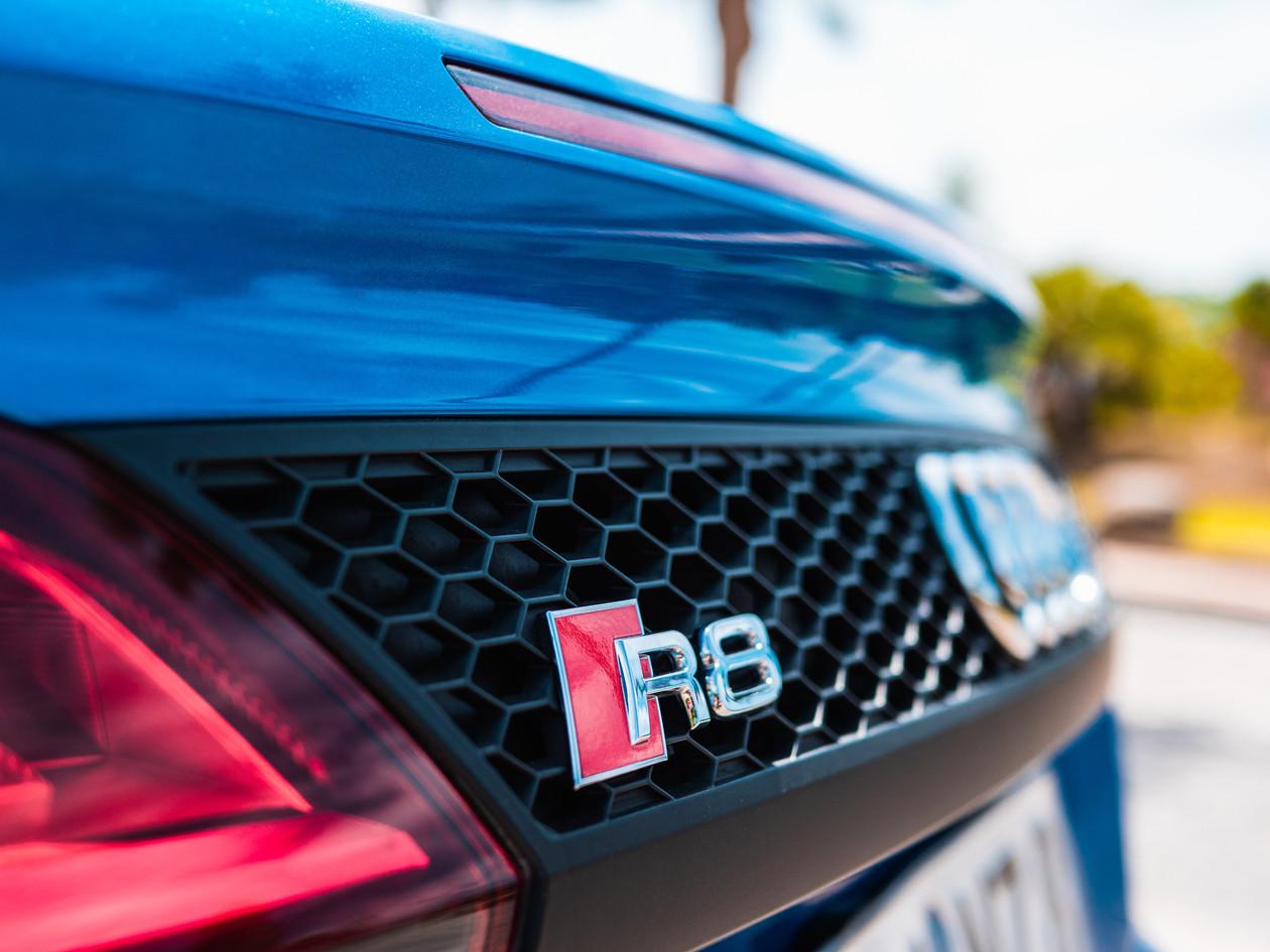 Detalle Audi r8
