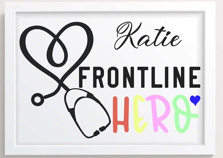 Frontline Hero w/ Custom Name