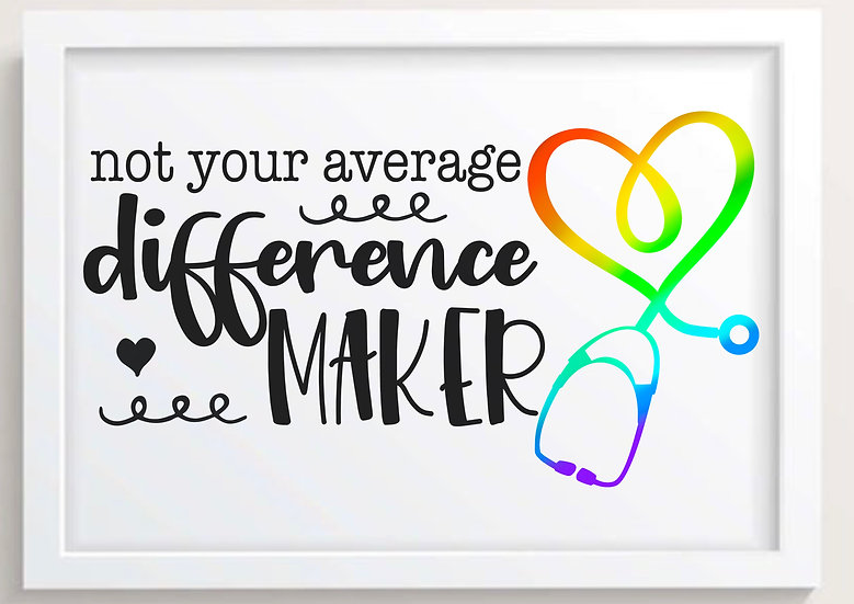 Not Your Average Difference Maker! (Colour)