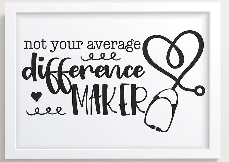 Not Your Average Difference Maker!