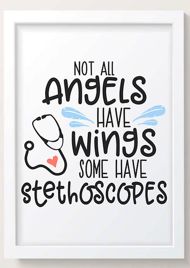 Not All Angels Have Wings! (Colour)