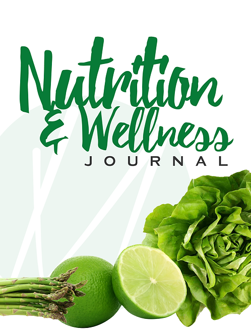 Nutrition and Wellness Journal