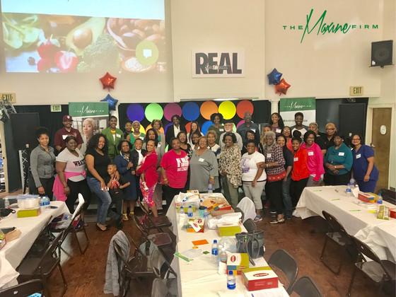 Elizabeth Baptist Church's Inaugural Nutrition, Health, Wellness Symposium