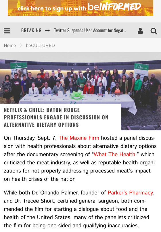 Netflix & Chill: What the Health