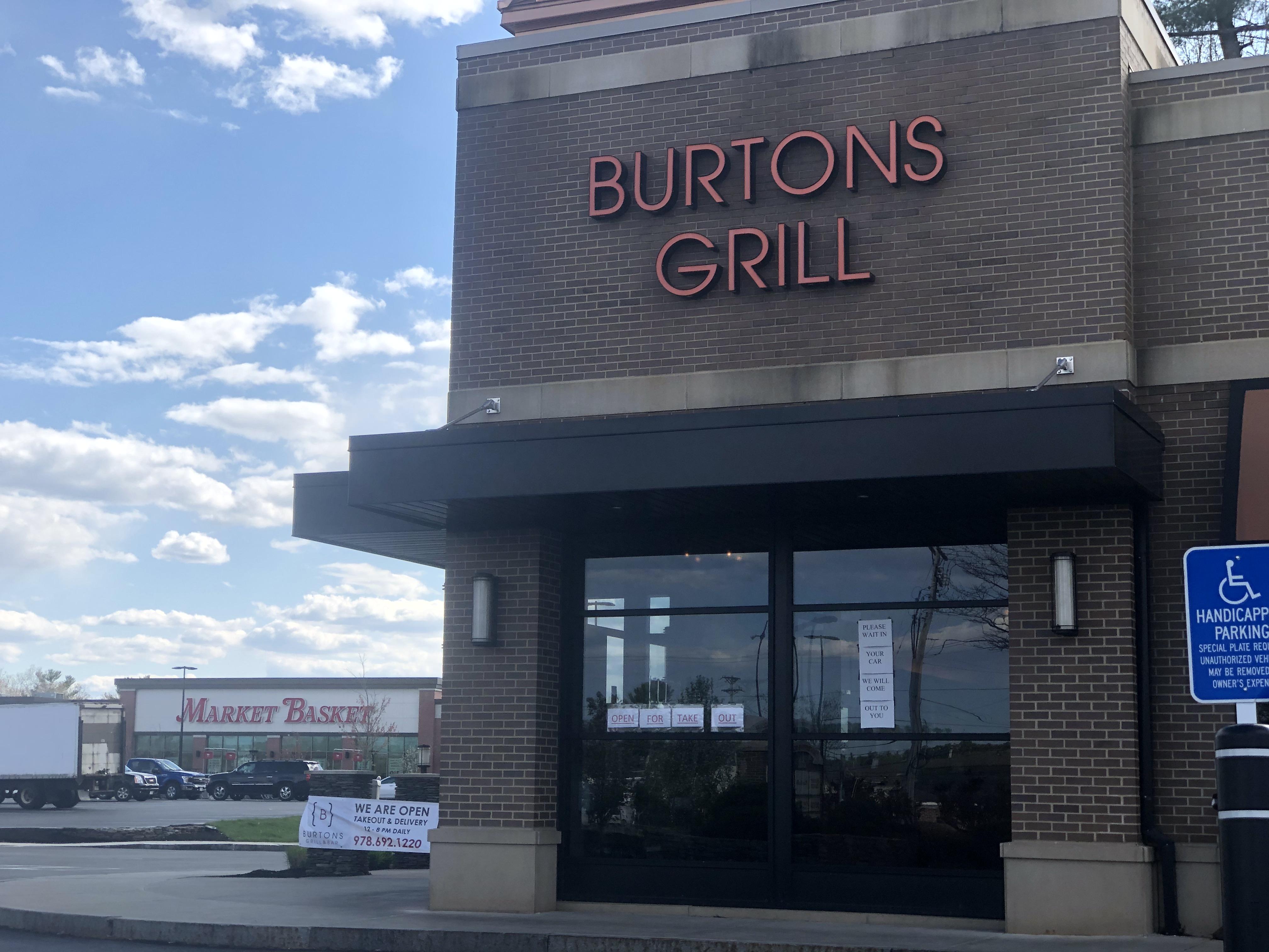 Westford MA Burtons Grill
