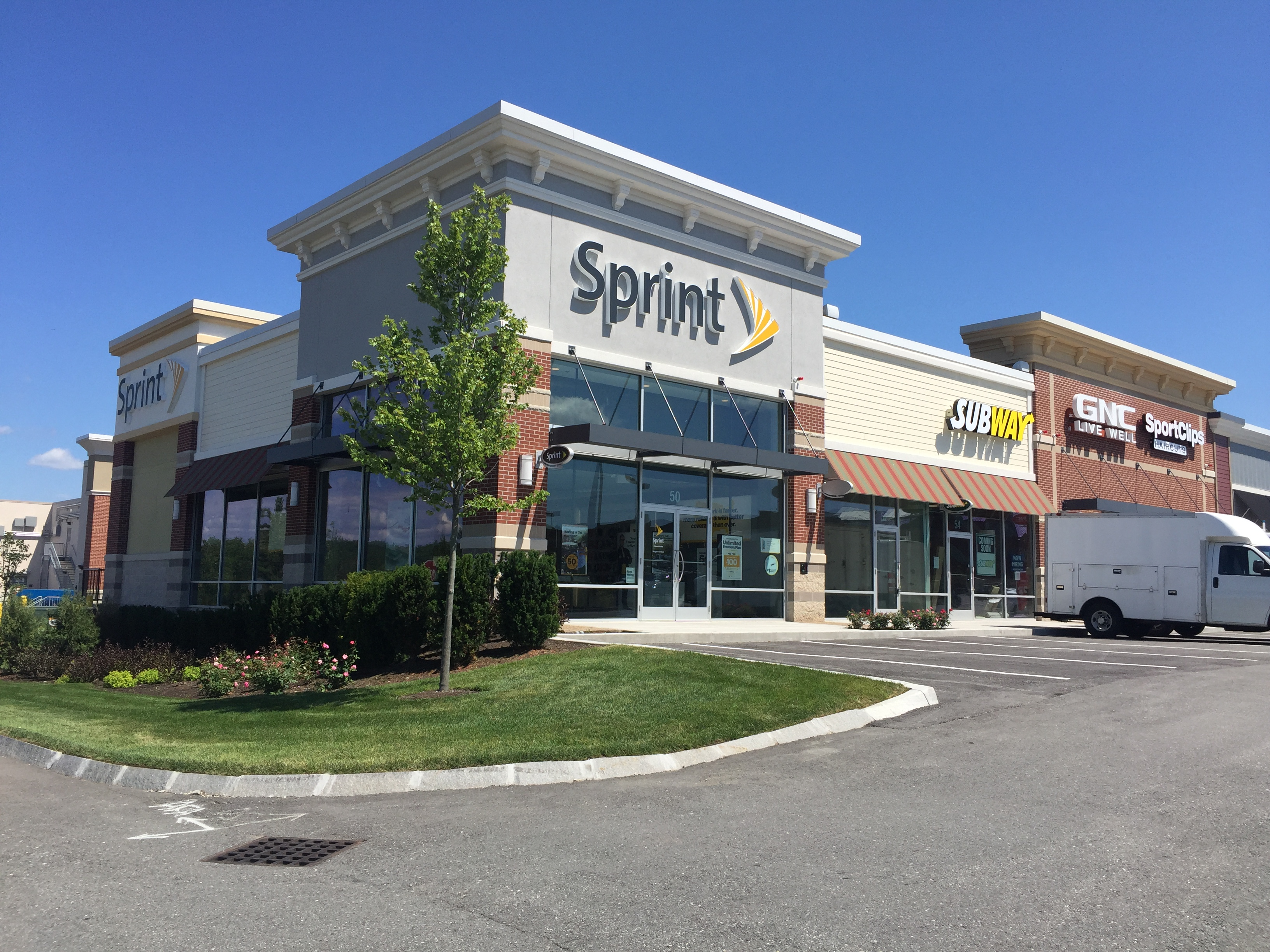 Hudson MA Sprint Highland Commons