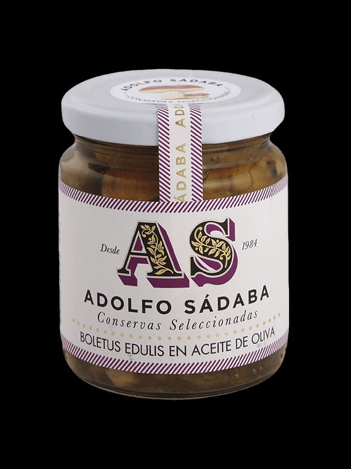 Boletus Edulis en Aceite de Oliva