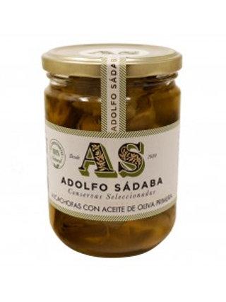 Alcachofas con aceite de oliva Primera