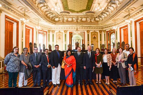 Programa de Estudos Indianos, UERJ, Edgard Leite