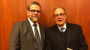 Com o Dr. Luís Filipe Barreto