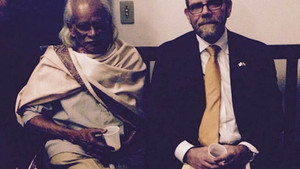Com o poeta hindu Siva Reddy