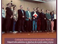 Edgard Leite na Universidade Católica de Petrópolis