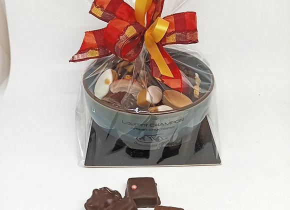 Coupelle : Chocolat et Amandins