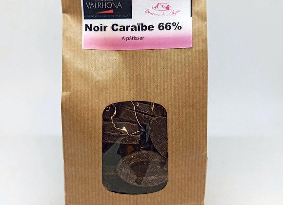 Chocolat noir Caraïbe 66%