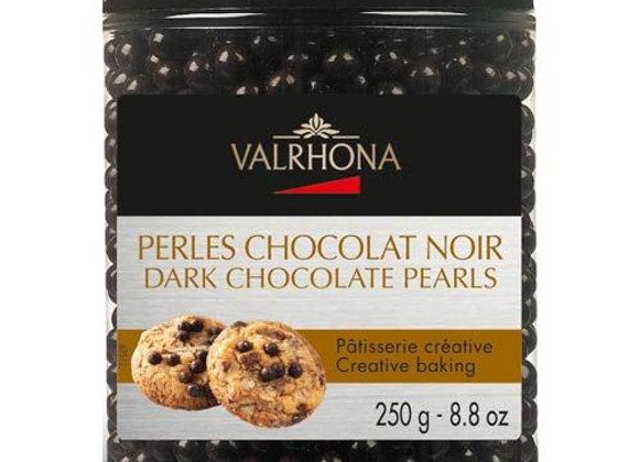 Perles de chocolat noir