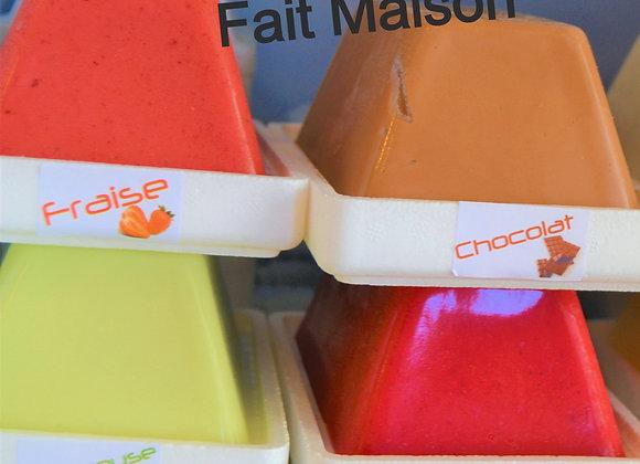 glaces & sorbets fait MAISON