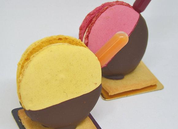 Macarons gourmands - Portion