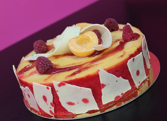 Yaourt & fraises- Entremet glacé
