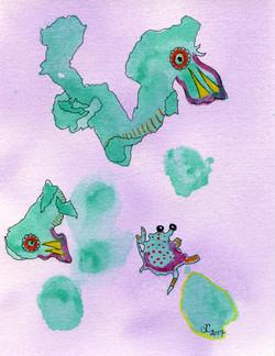 Late Night Sea Creatures
