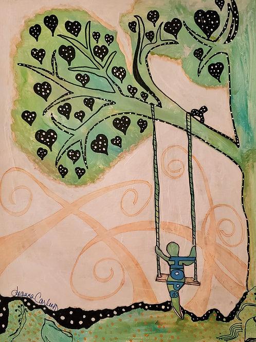 """Original """"Hope Swings Eternal"""