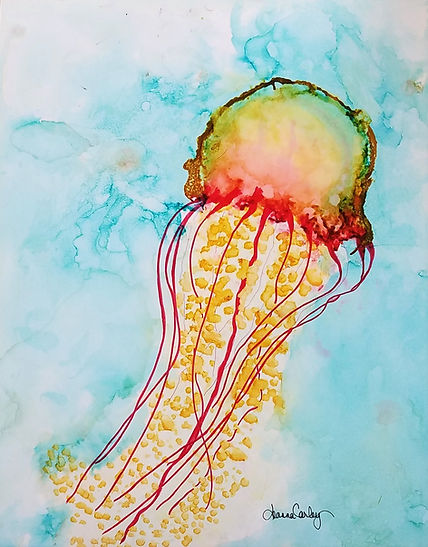 Magnificent Monday Jellyfish