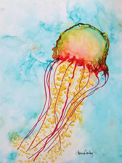"Original ""Magnificent Monday Jellyfish"""