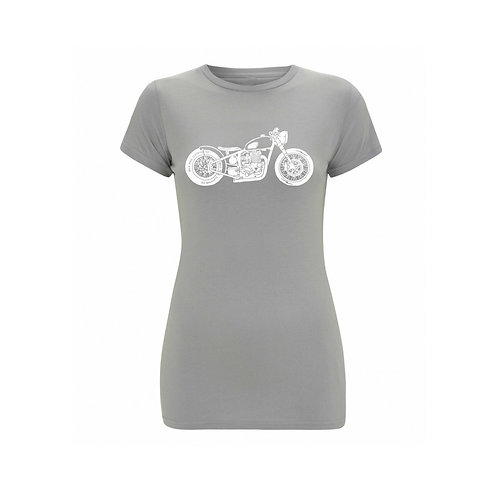 OILY RAG Bike T-shirt Grey