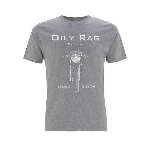 OILY RAG Café Racer T-shirt