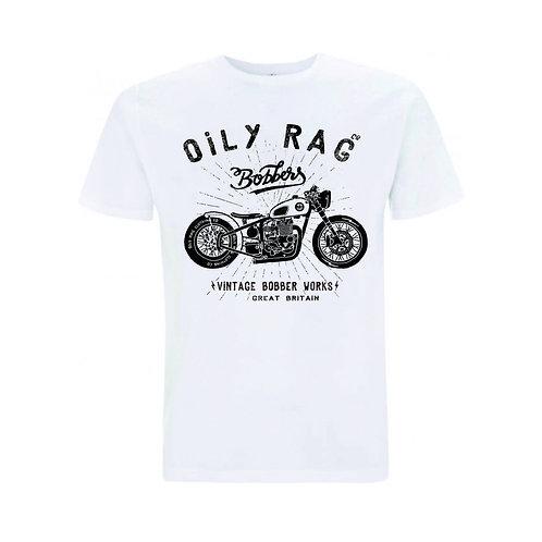 OILY RAG Bobber T-shirt White