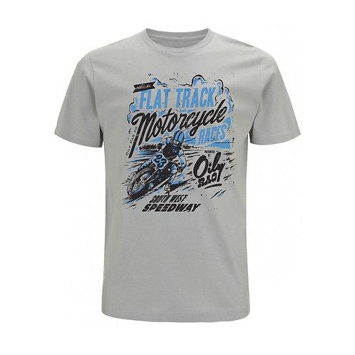 OILY RAG Flat Tracker T-shirt