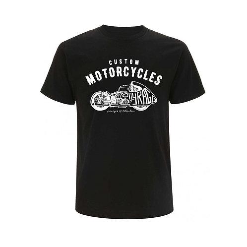 OILY RAG Racer T-shirt Black