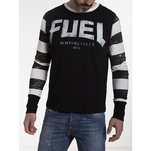 FUEL STRIPES T-shirt long sleeve