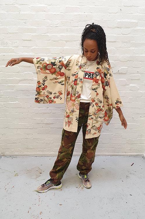 Floral Vintage Kimono