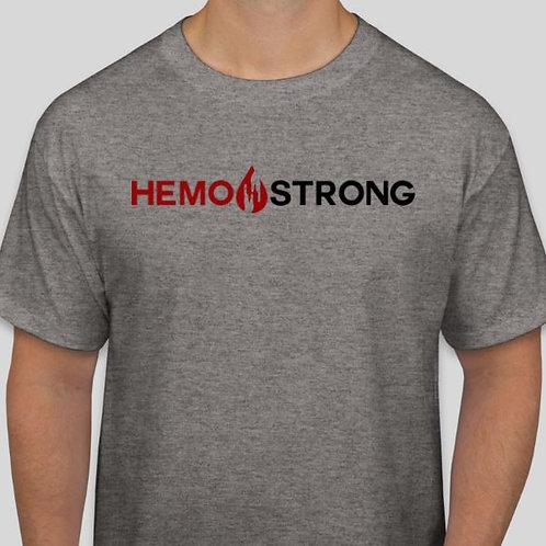 Grey HEMO STRONG T-Shirt