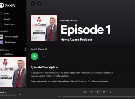 HemoAware Podcast - Episode 1 - Living with Hemophilia