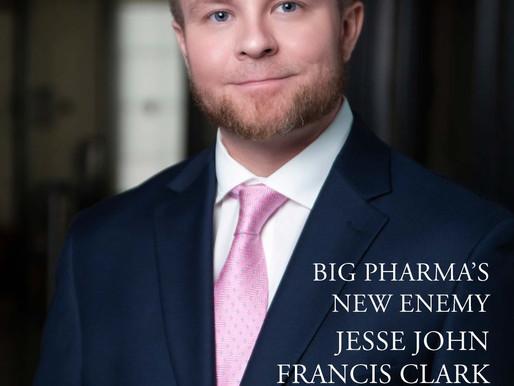 Jesse John Francis Clark On November Cover of Total Prestige Magazine