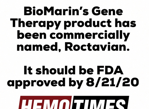 BioMarin Has Finally Named It's Gene Therapy Product.