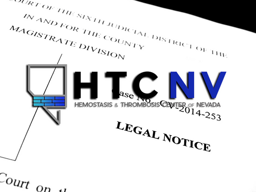 Complaints Pile Up Against The Hemostasis and Thrombosis Center of Nevada (HTCNV)