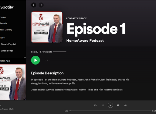 HemoAware Podcast - Episode 1 is Now Available