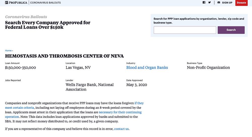 Hemostasis & Thrombosis Center of Nevada