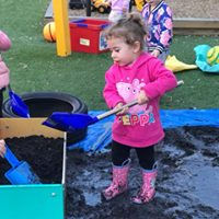 Wow children at muddy puddle play. childcare near me, hillside, kindergarten, josie's bright beginnings, kindergarten near me. long day care.
