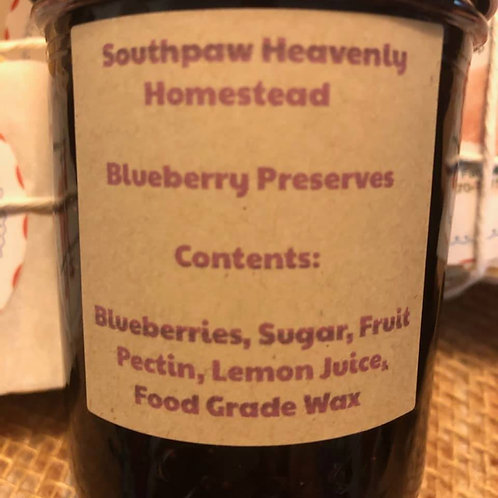 Blueberry Preservers