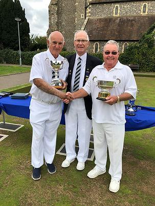 Peter Thorpe and John Proffitt Pairs Win